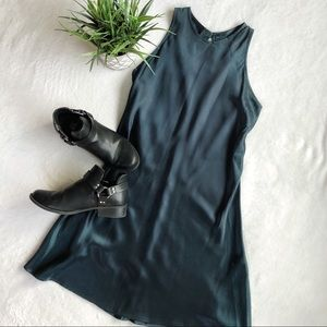Vintage All That Jazz Silky Dress